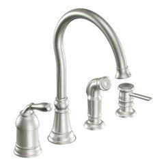 Moen Kitchen Faucets Discounted: Buy Moen Lindley CA87008CSL ...