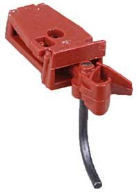 HO 3/4 Size Coupler, Rust (2pr) KAD712
