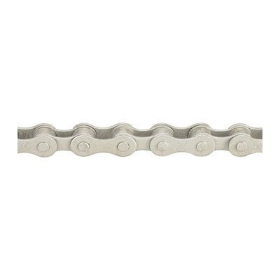 KMC Z410 Rust Buster Bicycle Chain (1-Speed, 1/2 x 1/8-Inch, 112L, Silver)