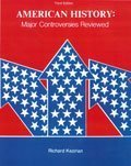 img - for American History: Major Controversies Reviewed by KEZIRIAN RICHARD (June 4, 1991) Paperback 3 book / textbook / text book