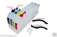 Refillable Ink cartridge for Brother LC400 LC12 LC17 LC71 LC73 LC75 LC79 (Empty)