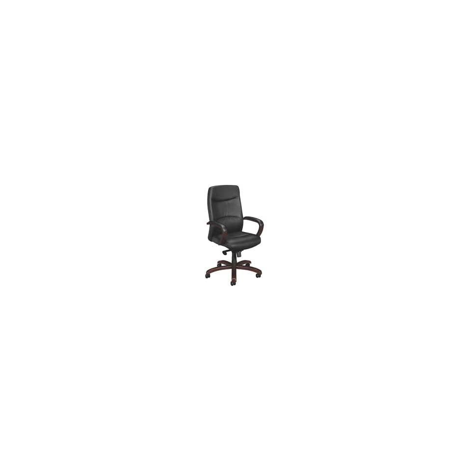 Basyx Products   Executive Swivel Chair, High back, 25x25