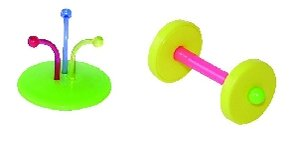 Cheap JW Pet Company Insight Foot Toy Flower And Roller Small Bird Toy Assorted Colors (080-31064)