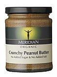 Meridian Peanut Butter Crunchy, Organic, No Salt 6x280g