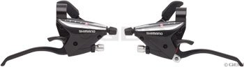 Shimano EF65 3 x 9 Speed Brake/Shift Levers Black