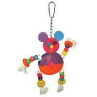 The Crazy Wooden Mouse Bird Toy – 12 in. x 9 in.