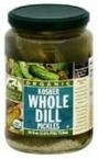 Woodstock Organic Kosher Dill Pickles Deli Style by Woodstock