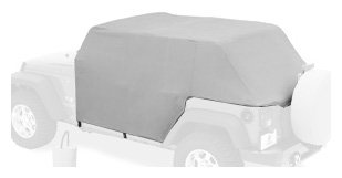 Bestop 81041-09 Charcoal All Weather Trail Cover For 07-13 Wrangler Jk Unlimited