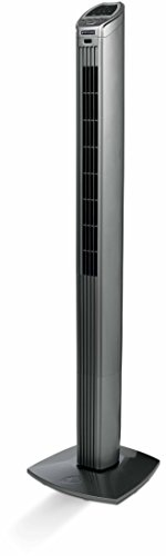 Bionaire BT150R-049 40-Watt Slim Tower Fan (Black and Silver)