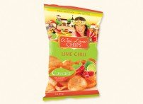 Wai Lana Chips, Lime Chili - 3oz [pack of 14]