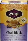 Yogi Chai Black Tea 1 Box 16 Tea Bags Per Box