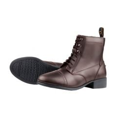 DUBLIN FOUNDATION LACED PADDOCK BOOTS BROWN LADIES 9