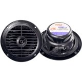 Pyle Plmr67B 6 1/2-Inch Dual Cone Waterproof Stereo Speaker System