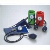 ケンツメディコ アネロイド血圧計 No.555 DURA-X 耐衝撃性携帯型 カフ色:レッド