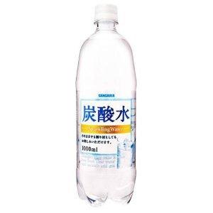 サンガリア 炭酸水1LPET×12本入