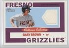 Gary Brown Fresno Grizzlies (Baseball Card) 2013 Topps Heritage Minor League Edition... by Topps