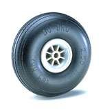 "Du-Bro 325TL 3-1/4"" Diameter Treaded Lightweight Wheel (2-Pack) - 1"