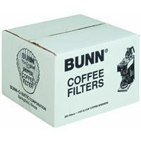 BUNN 12-Cup Commercial Coffee Filters, 250-count (12 Cup Bunn Coffee Maker compare prices)