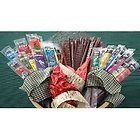Gourmet Exotic Game Jerky 50 Piece Gift Pack