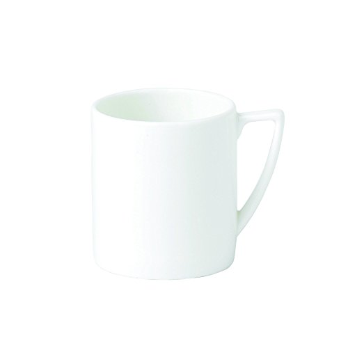 Wedgwood Bone China Espresso Cup Plain, White