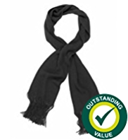 M&S Collection Cashmilon™ Tassel Trim Scarf