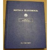 img - for Metals Handbook, 8th Edition. Volume 3: Machining book / textbook / text book