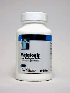 Douglas Laboratories - Melatonin 3mg sublinguale