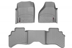 img View detail Weathertech 462091-460194-3 Front And Rear Floorliners Gray Infiniti QX56 08-10 from amazon.com