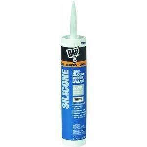 Dap 06102 Phenoseal Vinyl Adhesive Caulk, 10 oz Capacity, Black