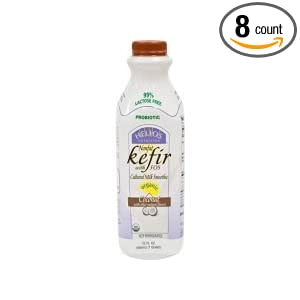 Helios Nutrition Organic Non Fat Coconut Kefir, 32 Ounce -- 8 per case