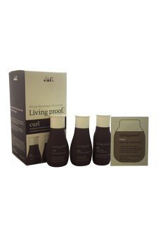 Living Proof Curl 4 Piece Travel Kit for Unisex, 2 oz by Living Proof