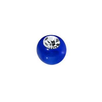 3mm Blue Gem Acrylic Replacement Ball