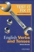 Test it, Fix it - English Grammar: Pre-intermediate level