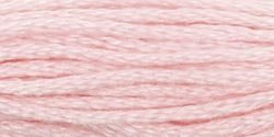 Coats & Clark Six Strand Embroidery Floss 8.75 Yards Dusty Rose Very Light C11-3150; 24 Items/Order