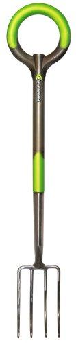 Radius Garden 204 PRO Ergonomic Stainless Steel Border Fork