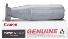 Brand New Genuine Canon 1383A003AA Canon NPG 12 Canon NPG12 Black Laser Toner Bottle Designed to Work for Canon NP 6085 Canon NP 6285