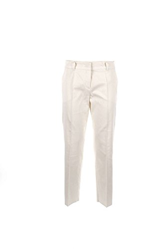 Caractere P302A010WX Pantalone Donna Bianco 48