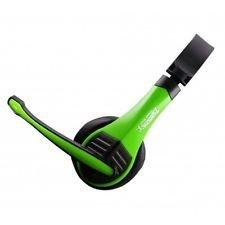 Zebronics Bolt Headphones with Mic (Green)