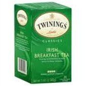 Twinings Of London Irish Breakfast Tea (Box Of 20) By Twinings Of London