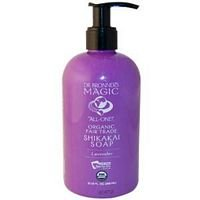 Dr Bronners Organic Shikakai Lavender Liquid Hand Soap, 12 Ounce -- 6 per case.