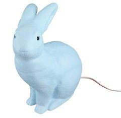 Leuchte Hase, blau