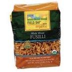 Field Day Whole Wheat Fusilli Pasta (6x16 oz.)