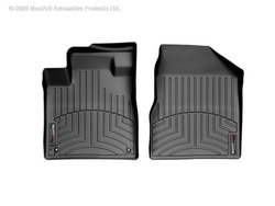 WeatherTech Custom Fit Front FloorLiner for Nissan Murano (Black) (Car Mats Nissan Murano compare prices)