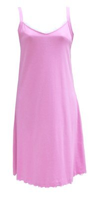 RocketWear Women's Pink Orchid Cotton Knit Chemise/Nightgown Medium