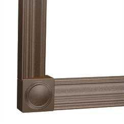 Moen MS4048ORB Mirrorscapes 4000 Series Mirror Frame 4-Foot Straight, Oil Rubbed Bronze (Mirror Frame compare prices)