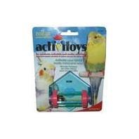Cheap 6 PACK ACTIVITOYS TUMBLE BELL (Catalog Category: Bird:TOYS) (B0071D21UQ)