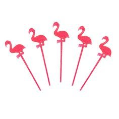 1 X Luau Flamingo Picks (24) - 1