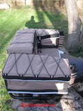 21nNrbIpYOL. SL160  APPALACHIAN ADVENTURE REAR RACK ALL TERRAIN VEHICLE (ATV) CARGO BAG   KHAKI