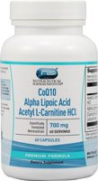 Vitacost CoQ10 + Alpha Lipoic Acid + Acetyl L-Carnitine HCl -- 60 Capsules from Nutraceutical Sciences Institute (NSI)