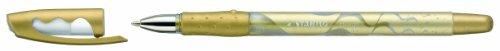 Stabilo Rollerball - Paquete de 10 bolígrafos de tinta gel, dorado